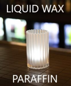 Paraffin oil candle