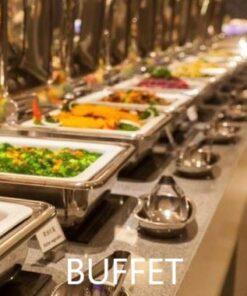 Buffet varmer